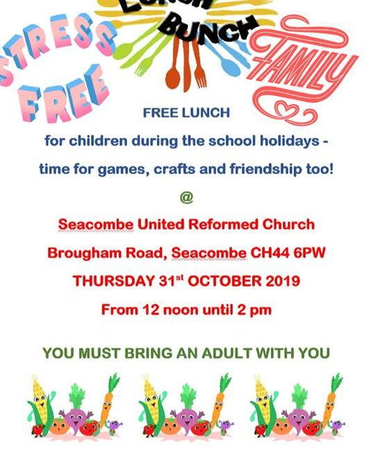 Seacombe URC – October Half Term