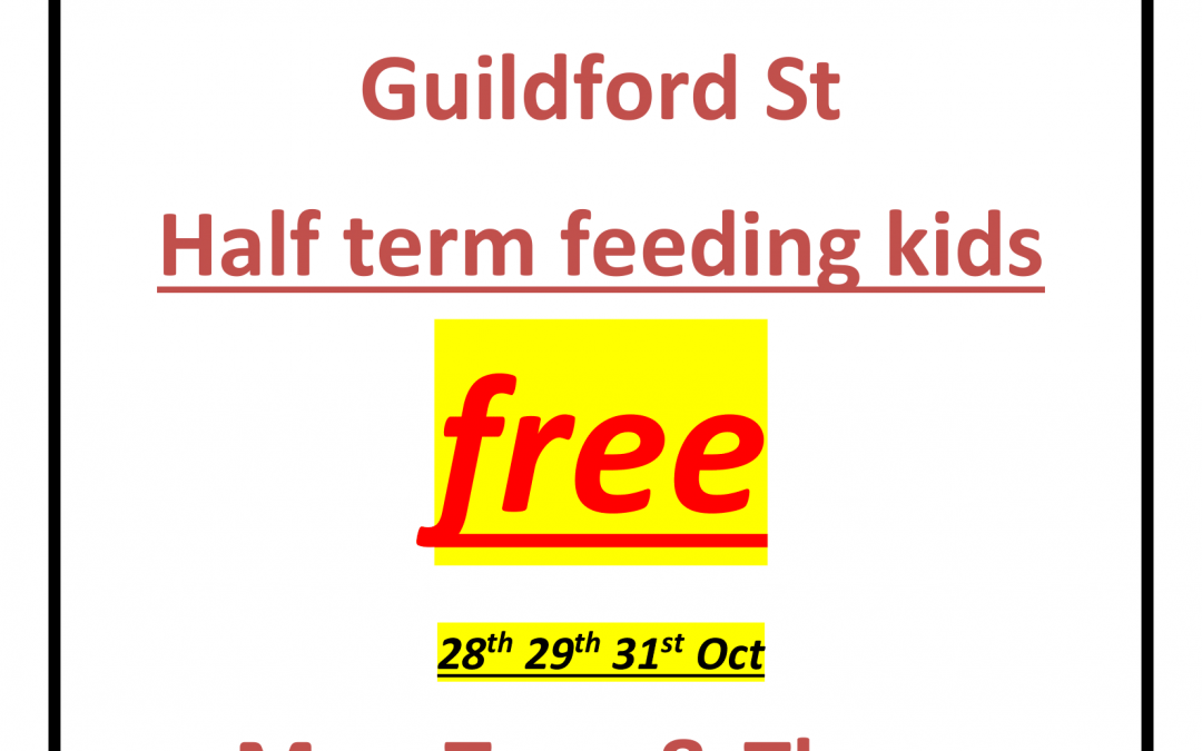 Heart of Egremont October Half Term