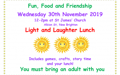St James Church, New Brighton – October Half Term